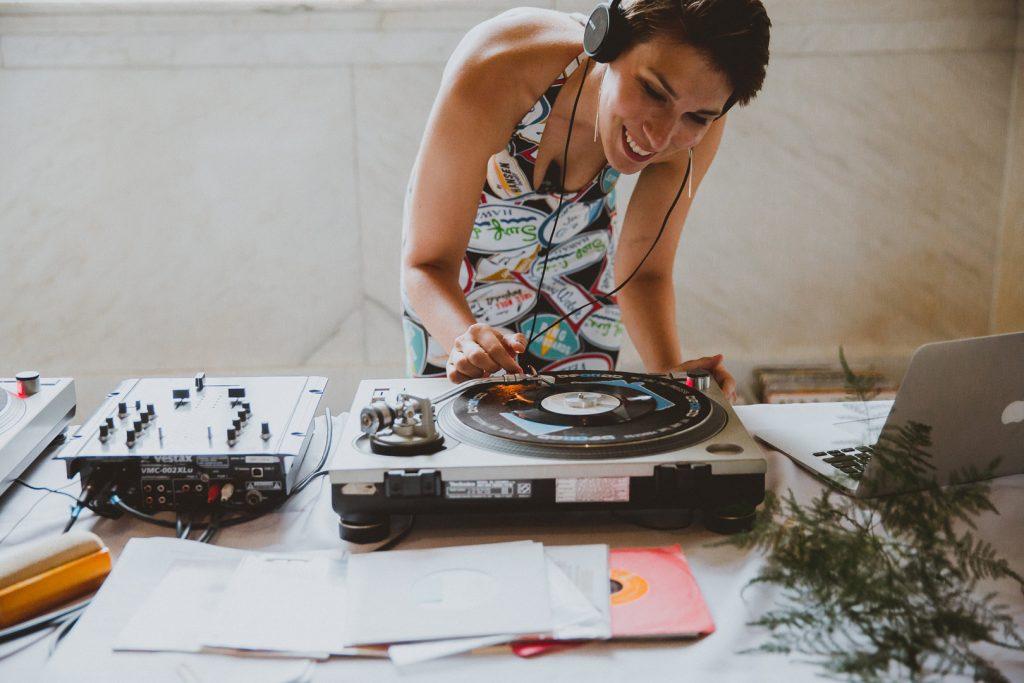 DJ at event